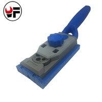 Woodworking Pocket Hole Jig Kit Set 9 5mm Drill Guide Sleeve For Kreg Pilot Wood Drilling
