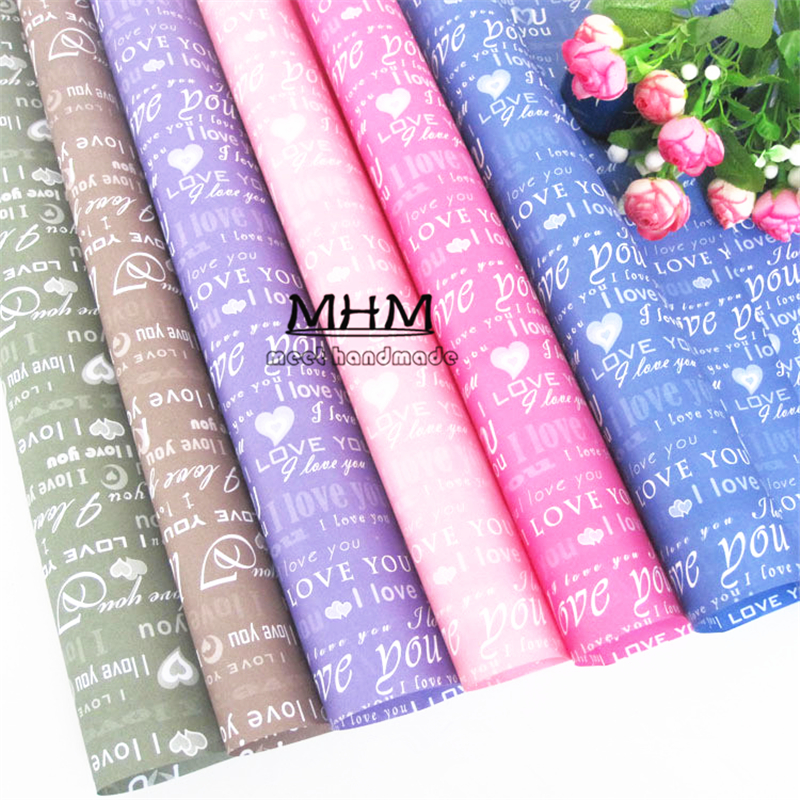 10pcs Tissue Wrapping Paper Flowers Packaging Gift ...