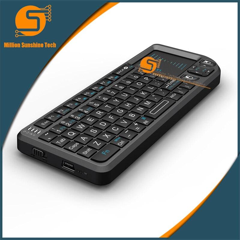 2,4g Fliegen Air Maus Raspberry Pi 3 Drahtlose Tastatur Fernbedienung Lernen Tastatur Combo Für Android Smart Tv Box Computer Hoher Standard In QualitäT Und Hygiene