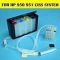 HP950 951 Ciss Sistema de tinta Para HP Officejet 8100 8600 8615 8620 8625 8630 8635 251dw 276dw Plotter Com Reset Automático Chip