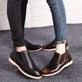 2017 Hot Sexy Botas de Lluvia de la Moda de Invierno de Lujo de Las Mujeres Del Tobillo Botas de Cuero Genuino Marrón Negro Zapatos de Negocios Para La Boda