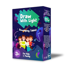 PVC A4 Tablet Draw with Light Funny Toy Children Educational Developing Toy English Language Version(China)