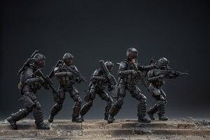 Image 4 - JOYTOY 1:18 figurines action US armée aéroportée Corps soldat figure modèle jouets pour enfant cadeau livraison gratuite