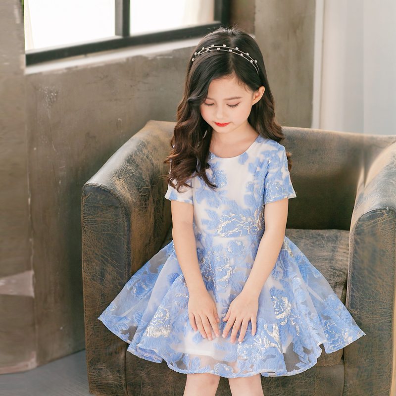 Family matching clothes children clothing women kids baby girl fashion big hem full-skirt dress mother and daughter summer dress цена