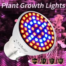 CanLing E27 Led 220V Phyto Lamp Full Spectrum E14 LED Bulb For Plant GU10 Fitolampy B22 Grow Light MR16 Bulbs 4W 6W 8W