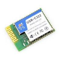 Q010 USR-C322b CC3200 ile Endüstriyel Düşük Güç Wifi Modülü Seri UART Çip ve Harici Anten