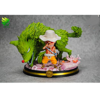 Presale Pirien Usopp Green Star Shocks Wolf Grass GK ONE PIECE Action Figure Collection Model Toy (Delivery Period:60 Day) M368