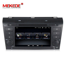 Wholesale! Quad core android 8.0 smart car gps navigation dvd player for Mazda 3 2003-2009 support bluetooth wifi 3g camera dvr