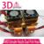 3D Cabeça de Impressão Mais Recente Atualização Makerbot MK8 Extrusora Bico 0.4mm Dupla Cabeça de Impressão Para A Impressora 3D