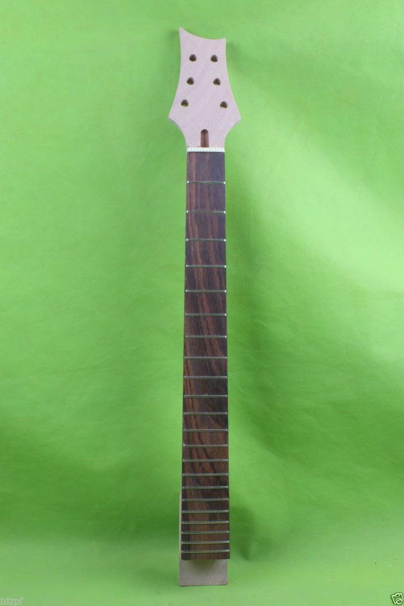 New 1pcs electric guitar neck maple Fretboard 22 fret 24.75'' Yinfente ### 1 pcs electric guitar neck maple wood fretboard truss rod 22 fret tiger stripes maple neck xylophone