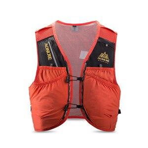 Image 3 - AONIJIE C942 المتقدمة الجلد على ظهره المجموعة المائية حقيبة ظهر سترة تسخير المياه المثانة التنزه التخييم الجري سباق ماراثون