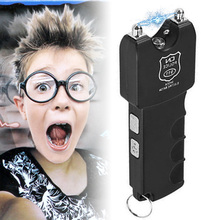 Tricky Toy Electric Bar LED Flashlight Shock Toys April Fools Day @ZJF