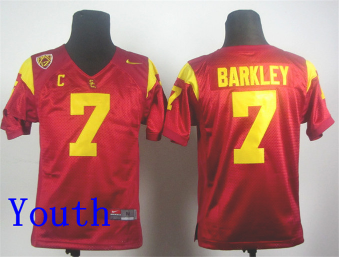 042dfd067 ... nike 7 youth usc trojans basketball jerseys white purple yellow stitched  customized any name and