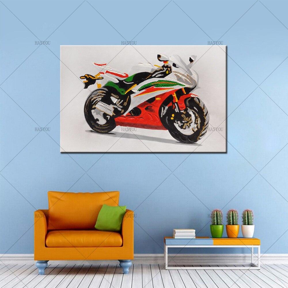 Dekorationen für Zu Hause Neue Design Moderne Abstrakte Motorrad ...