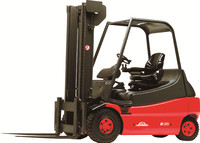 Linde new 2.5t 3t 3.5t electric forklift truck 1276 series E25 E30 E35 electric counter balanced forklift 2.5ton 3ton 3.5ton