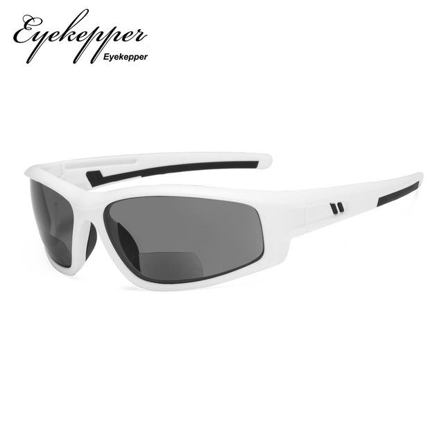 S045-Bifocal Eyekepper dwuogniskowe okulary przeciwsłoneczne dla sportowe TR90 na zewnątrz słońce czytelników