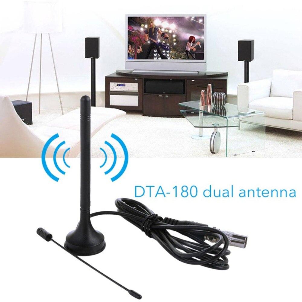 LESHP 008 HDTV Dual Plastic Digital 50 Miles Range TV