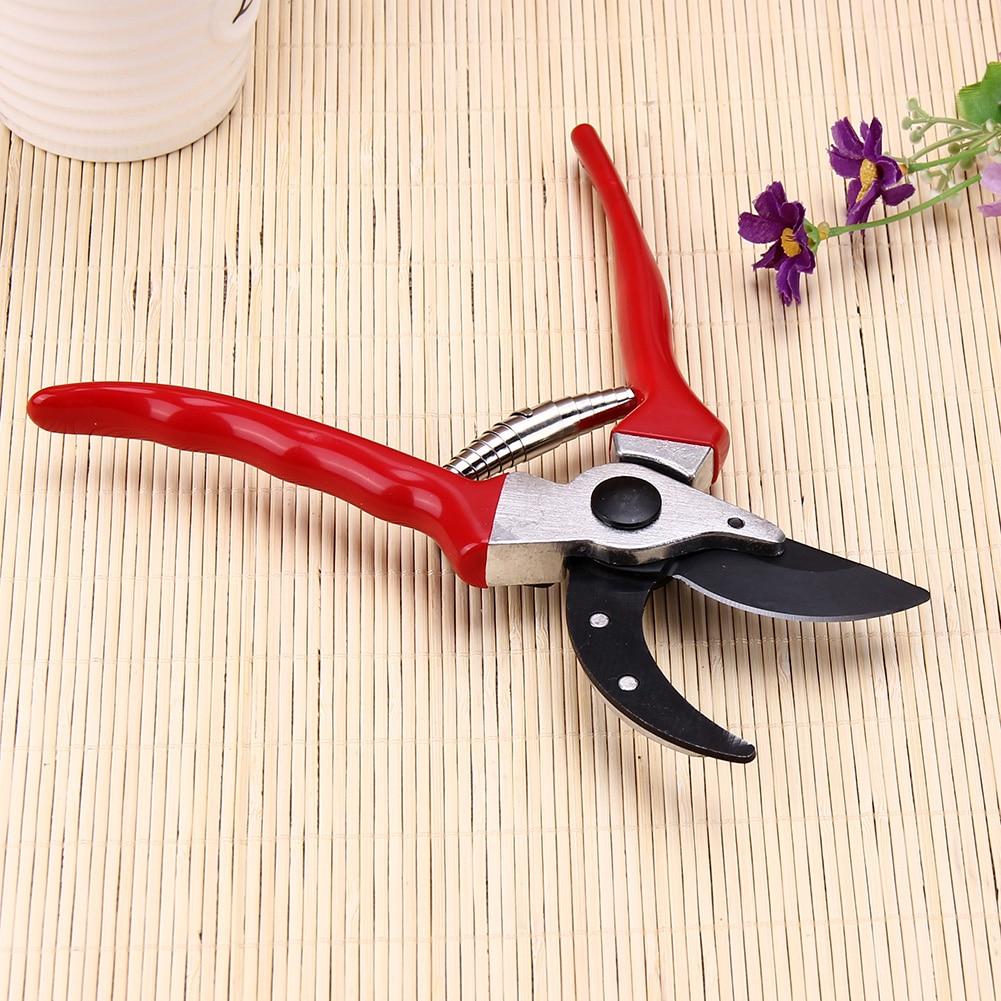 Grafting Tool Ergonomic Design Fruit Tree Pruning Shears Bonsai Pruners Garden Shears Gardening Secateurs Garden Scissors Red