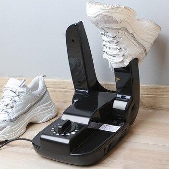 220 v assar sapato dispositivo máquina de secagem esterilização antitranspirante dobrável portátil elétrico sapato secador sapatos preto