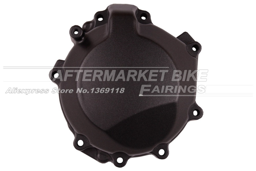 Motorcycle LEFT Crankcase For KAWASAKI ZX10R 2006 2007 Engine Stator Crank Case Generator Cover