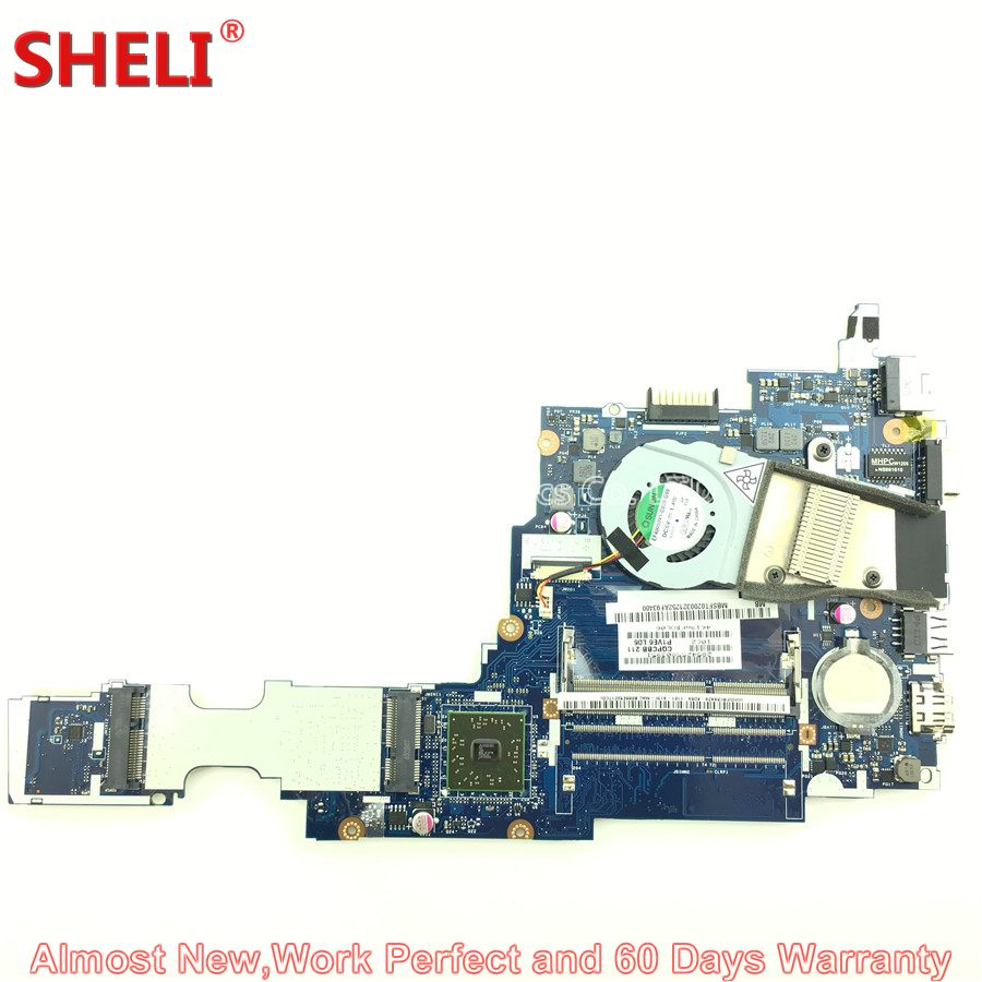MBSFT02003 MB.SFT02.003 Laptop Motherboard For Acer Aspire One 722 Netbook P1VE6 LA-7071P C60 1.0 GHz 1