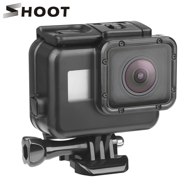 SHOOT 45m Underwater Waterproof Case for GoPro Hero 7 6 5 Black Diving Protective Cover Housing Mount for Go Pro 7 6 5 Accessory 1