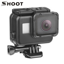 SHOOT 45m Underwater Waterproof Case for GoPro Hero 7 6 5 Black Diving Protective Cover Housing Mount for Go Pro 7 6 5 Accessory(China)