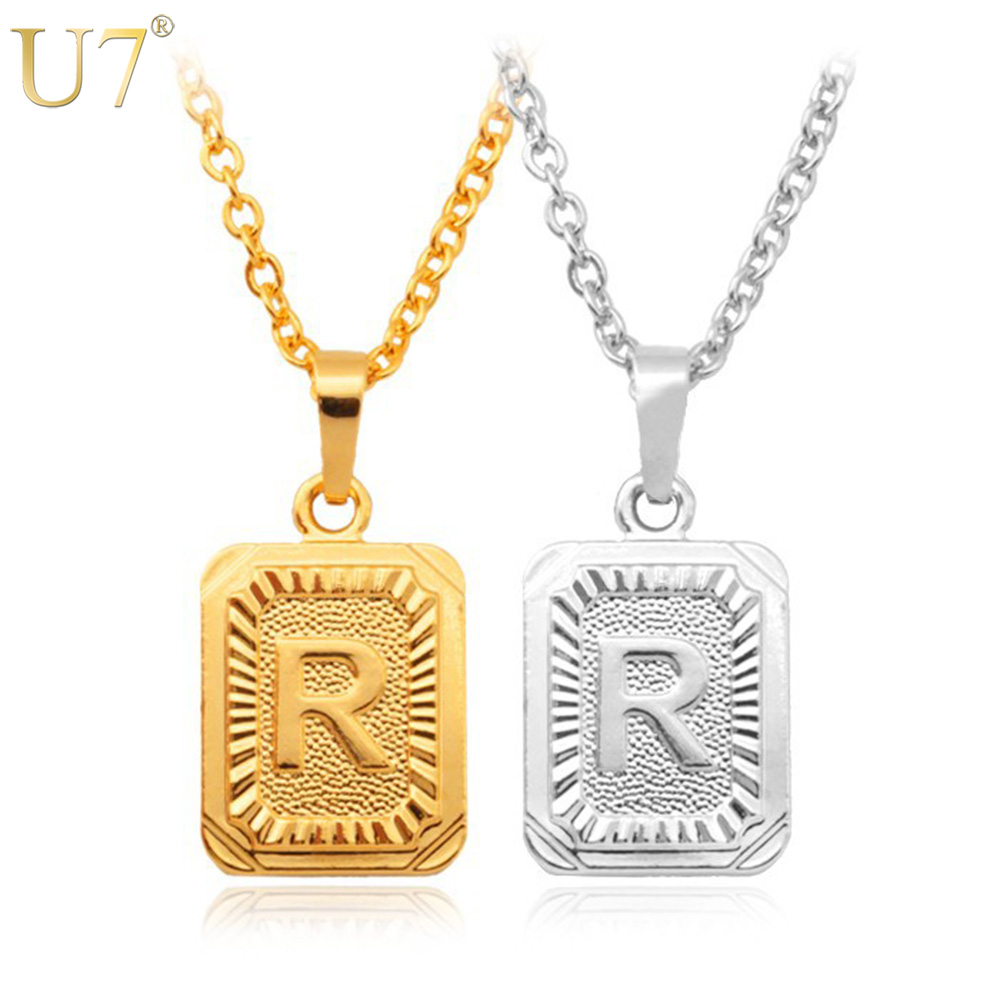 U7 gold silver color fashion jewelry factory wholesale Trendy womens gifts 2015