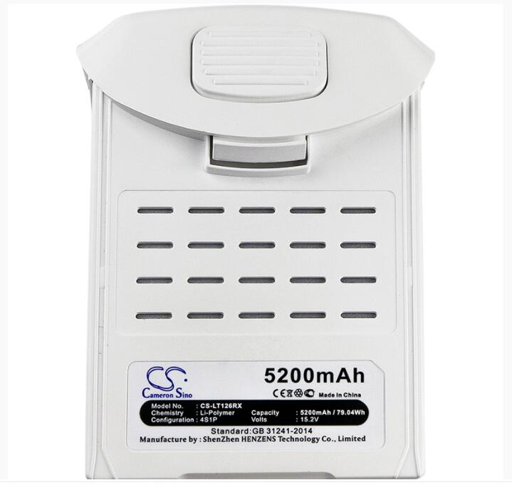 Cameron Sino 5200mAh battery for DJI Phantom 4 Phantom 4 Pro RC Hobby Battery|Digital Batteries|Consumer Electronics -