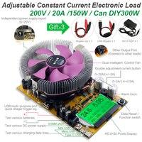 8 в 1 150 Вт usb метр Цифровой тестер емкости аккумулятора вольтметр регулируемый постоянный ток Электронный индикатор зарядки