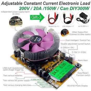 8 in 1 misuratore usb da 150W tester di capacità della batteria digitale voltmetro indicatore di carica elettronico a corrente costante regolabile