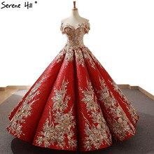 레드 하이 엔드 sequined 수제 꽃 웨딩 드레스 2020 sleevelss 섹시한 패션 럭셔리 브라 가운 실제 사진 66704