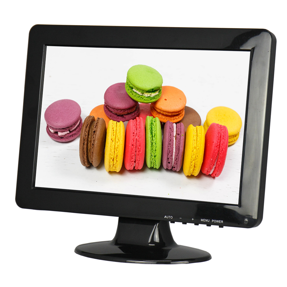 Wide Screen Monitor 12.1 Inch <font><b>HD</b></font> Monitor TFT <font><b>LED</b></font> Lcd Monitor with AV, BNC, VGA, USB , HDMI 1280*800 Resolution