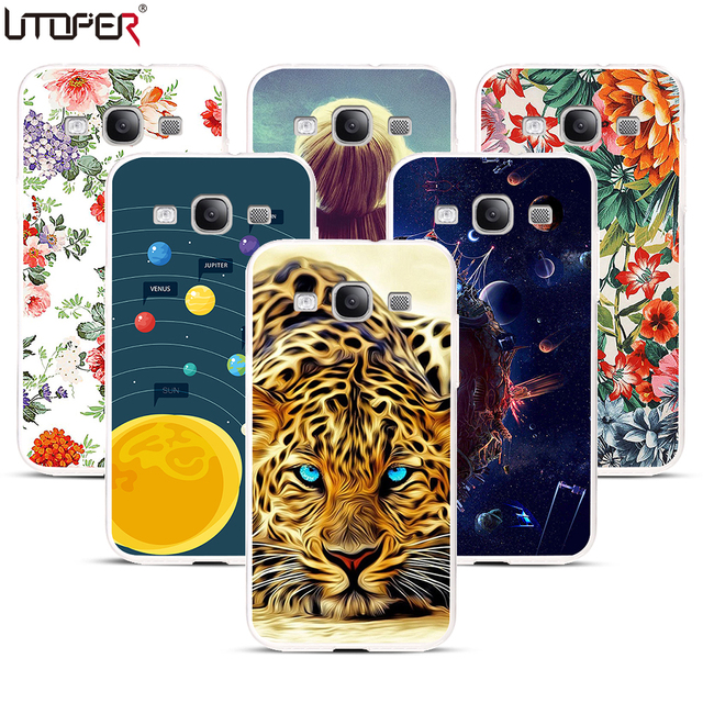Coque For Samsung Galaxy S3 Case Tiger DIY Pattern Cover Transparent Silicone Case For Samsung S3 neo i9300 Soft Plastic Case