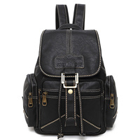 2015 Woman Backpacks School Bags High Quality PU Casual Bags Ladies Vintage Women Leather Backpack