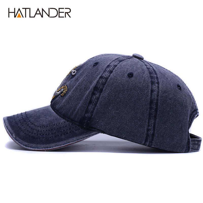 [HATLANDER] marka myte miękka bawełniana czapka baseballowa kapelusz dla kobiet mężczyzn vintage tata kapelusz 3d haft casual czapka sportowa