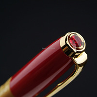 Prague Picasso High Quality Lucky Red Fountain Pen Free Shipping