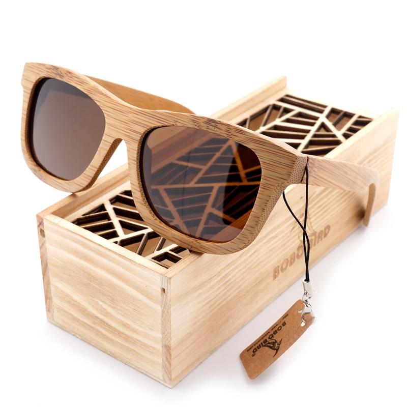 BOBO Quş təbii əl istehsalı bambuk eynək - Geyim aksesuarları - Fotoqrafiya 2