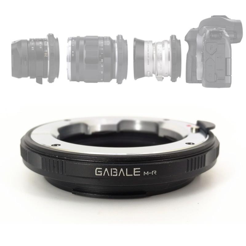 LM-RF Monture Adaptateur Bague pour Leica M Zeiss M VM et Canon EOS R RP RF Monture LM-EOSR LM-R