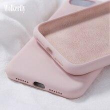 Soft Liquid Silicone Case For Samsung Galaxy A10 A20 A30 A40 A50 A70 A20E A51 A71 A6 2018 Note 10 S8 S9 S10 Plus S10e S20 Ultra