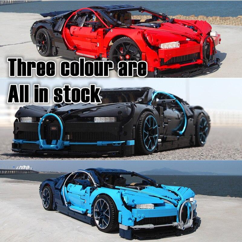 Série de technologie Bugatti ville vitesse Champions Super voiture de course Compatible LegoSet technique blocs de construction briques jouets cadeaux