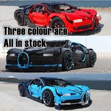 Technology Series Bugatti Chiron Super Racing Car Compatible Technic Building Block Bricks Toy Gift 4789 42039 42056 42096 42083