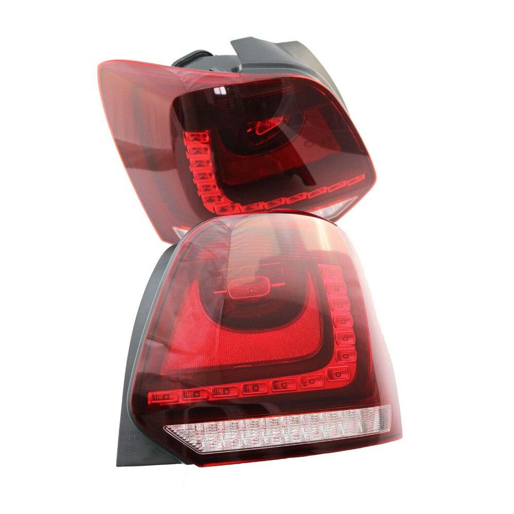 2шт новый для VW Поло 2010 2011 2012 2013 LED задний фонарь заднего света 6R0945095 6R0945096