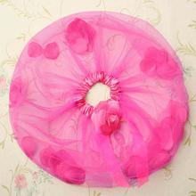 Girl Kid Flower Tulle Tutu Party Ballet Dancewear Skirt Pettiskirt Costume Free Shipping X5 H2