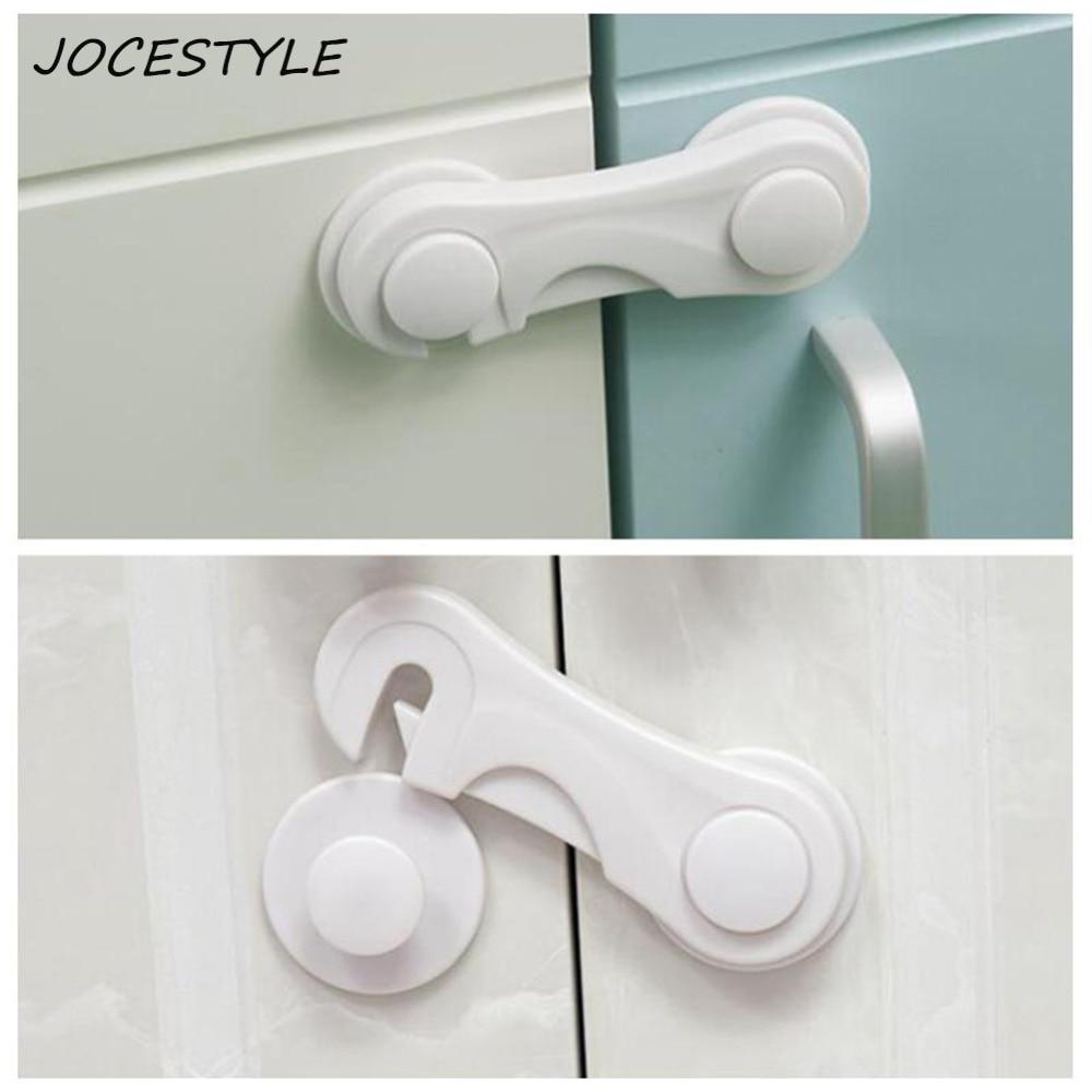 2Pcs Toilet Door Baby Safety Lock Closet Locker Cabinet Drawer Cupboard Locks