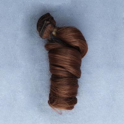 1 st 15cm * 100cm DIY Hög temperatur Curly hår för docka 1/3 1/4 - Dockor och tillbehör - Foto 6