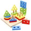 Simingyou 2016 Мудрость Перо Форма Соответствующие Геометрические Строительные Блоки Образовательные Игрушки Познавательная Цвет Детской Игрушки WDX46