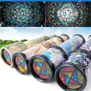 Dzieci kalejdoskopy zabawki skalowalne rozszerzony obrót regulowany kalejdoskop fantazyjny kolor świat edukacyjne zabawki dla dzieci tanie i dobre opinie Z tworzywa sztucznego CN (pochodzenie) 2-4 lat 5-7 lat kaleidoscope Unisex