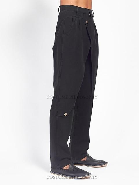 S-6XL!!Men's slacks self-made flared trousers designer style pleats. 2