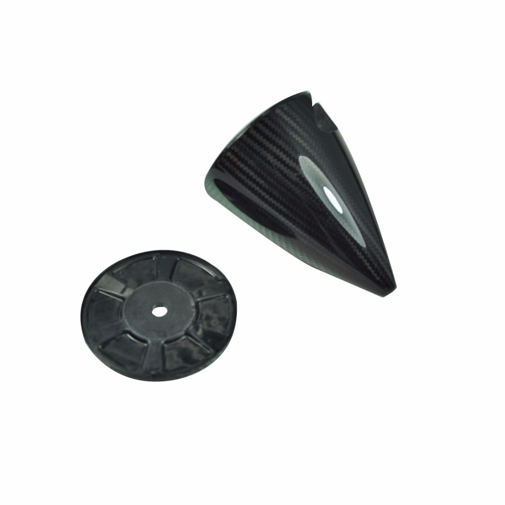 1 piece 3.5 Cone Carbon Fiber Spinner 2 Blades For Gasoline Engine RC Airplane Parts